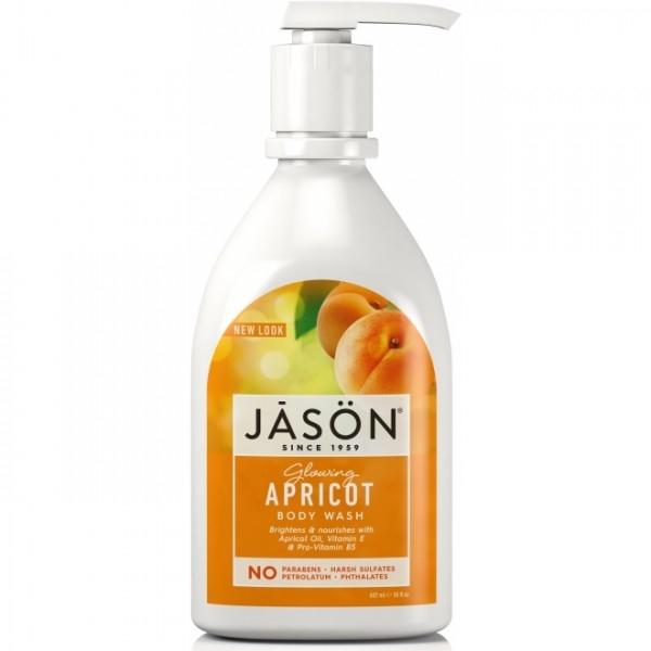 Sapun lichid hidratant cu Caise, 473 ml - Jason
