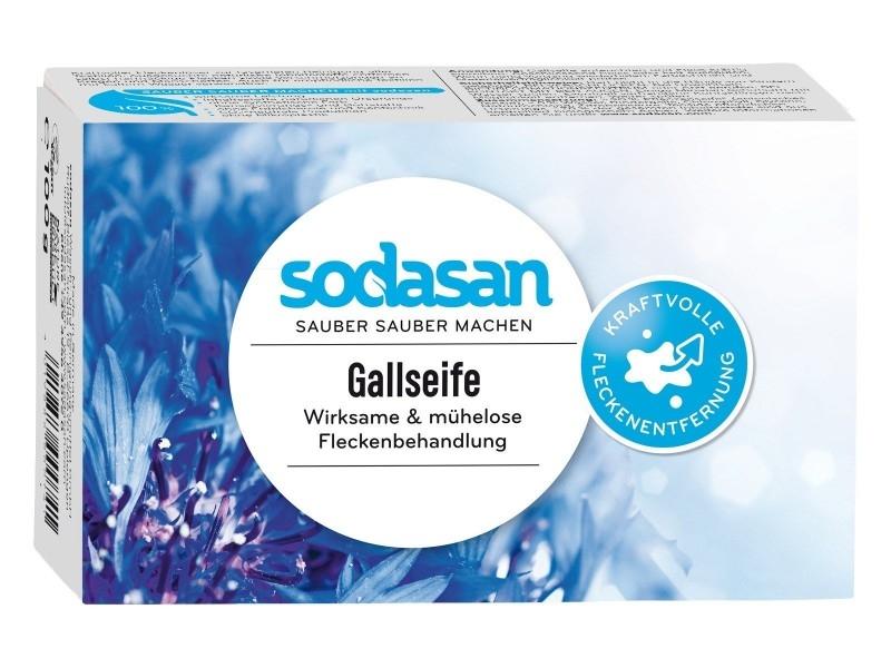 Sapun solid pentru indepartare pete, 100 g - Sodasan