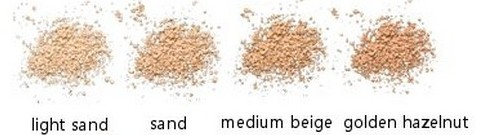 Pudra minerala libera Medium Beige, 10g - Benecos