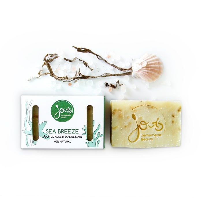 Sapun natural detoxifiant Sea Breeze - Jovis Homemade Beauty
