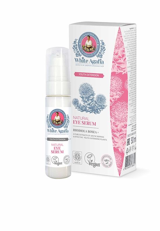 Serum antiage pentru ochi cu rhodiola, Youth Extension 30ml - White Agafia