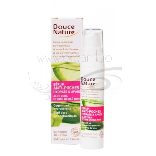 Serum contur ochi cu aloe vera, 15 ml - Douce Nature