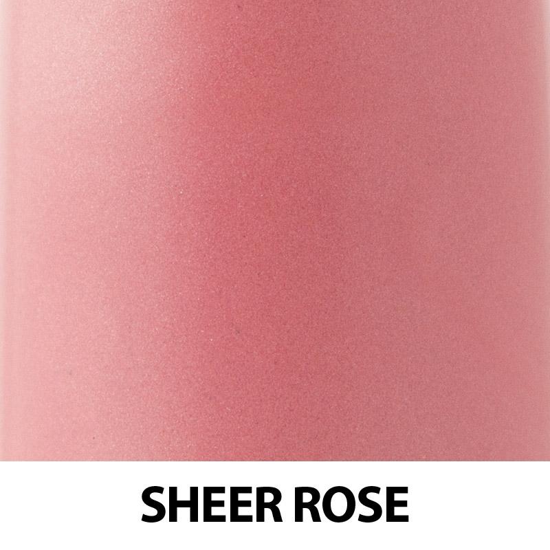 Ruj organic cu ulei de trandafiri, Sheer Rose - ZUII Organic