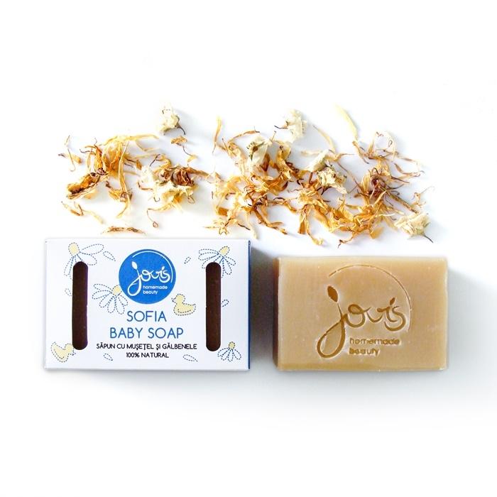 Sapun natural Sofia Baby Soap - Jovis Homemade Beauty