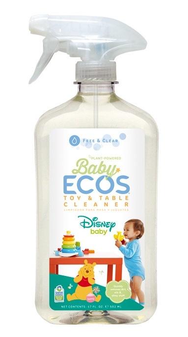 Solutie de curatare pentru jucarii si camera bebelusului, 500ml - ECOS