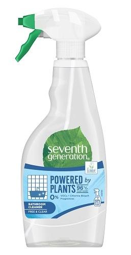 Solutie ecologica de curatare baie Fara Parfum, 500ml - Seventh Generation