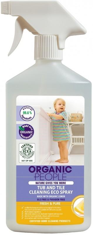 Solutie ecologica pentru curatarea baii cu Lamaie, 500 ml - Organic People