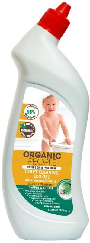 Solutie ecologica pentru toaleta cu ulei de pin, 750 ml - Organic People