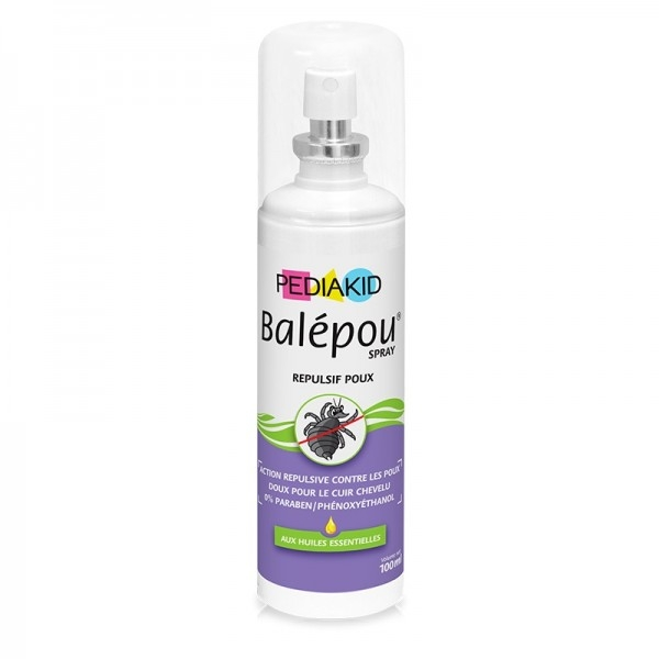 Spray natural pentru copii anti paduchi si capuse, Balepou - Pediakid