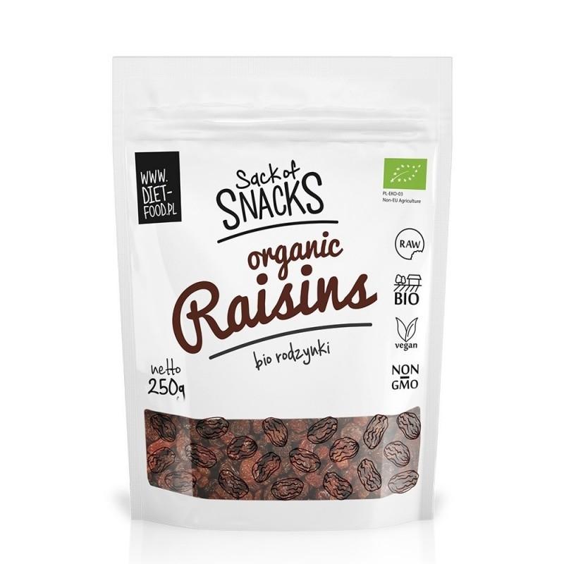 Stafide sultana bio, 250g - Diet-Food