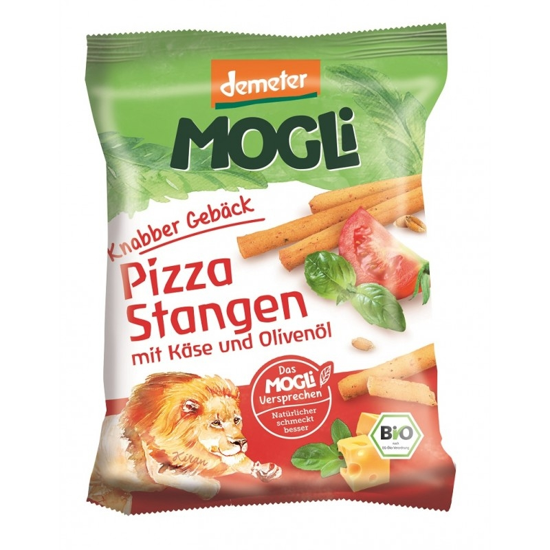 Sticksuri pizza cu branza si ierburi, 75g - Mogli