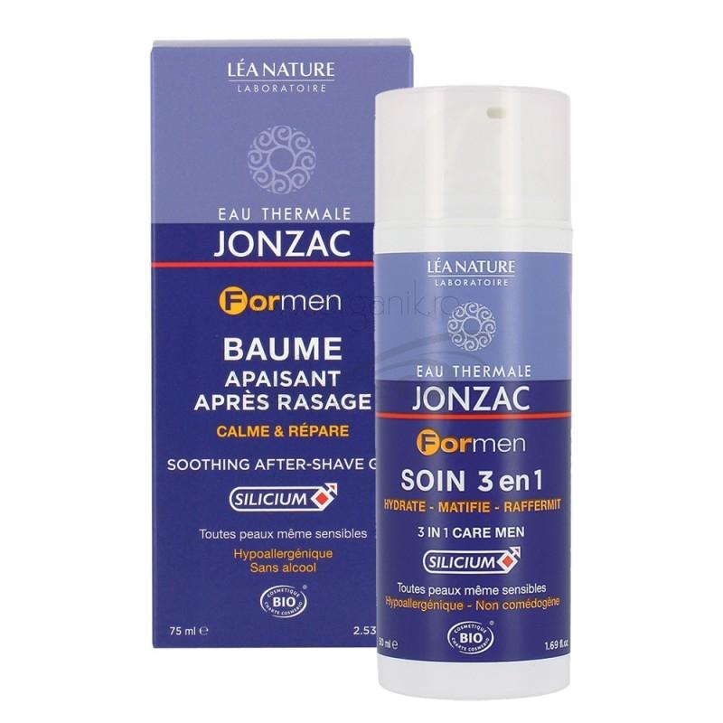 Crema cu apa termala, tratament 3 in 1 pentru barbati - JONZAC