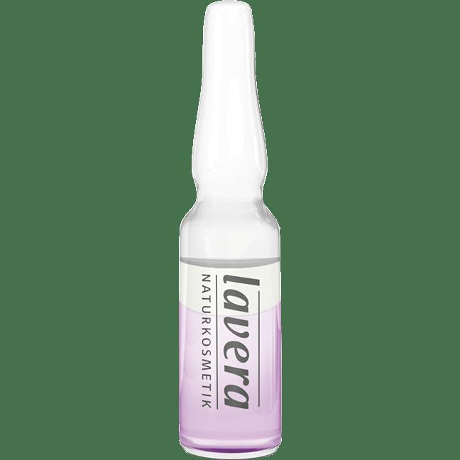 Tratament intensiv bifazic cu acid hialuronic pentru fermitate, 7 fiole - LAVERA