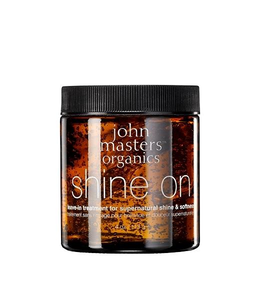 Tratament par leave-in pentru stralucire intensa, 113g - John Masters Organics