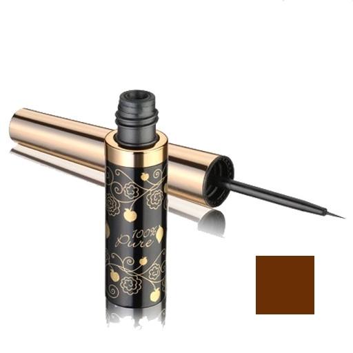 Tus de ochi eyeliner Dark Chocolate (maro inchis) - 100 Percent Pure Cosmetics
