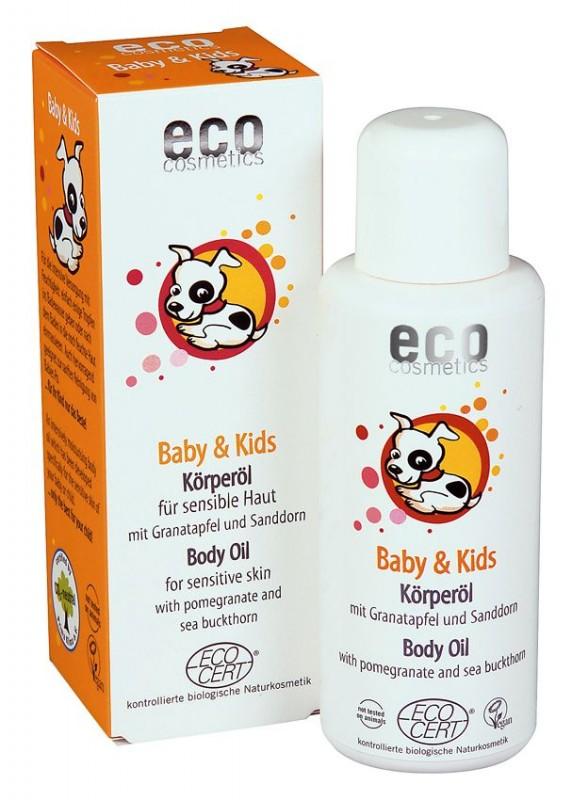 Ulei masaj 100% organic cu rodie si catina-Eco Cosmetics