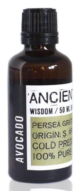 Ulei de avocado presat la rece, 50ml - Ancient Wisdom