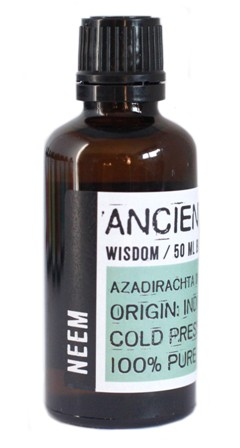 Ulei de neem presat la rece, 50ml - Ancient Wisdom