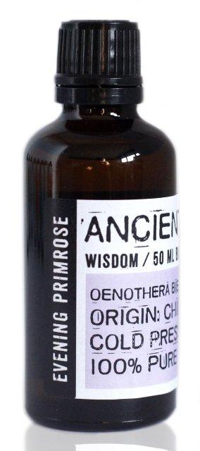 Ulei de primula (luminita noptii) presat la rece, 50ml - Ancient Wisdom