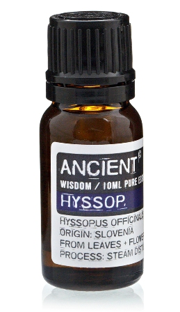 Ulei esential de Isop (Hyssopus Officinalis), 10ml - Ancient Wisdom