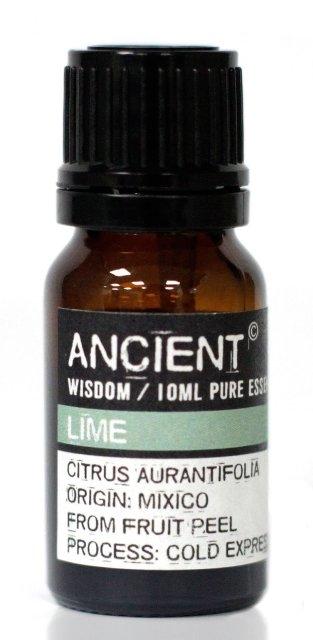 Ulei esential de Lamaie verde (Citrus Aurantifolias), 10ml - Ancient Wisdom