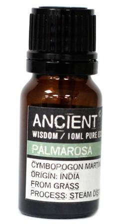 Ulei esential de Palmarosa (Cymbopogon Martinii), 10ml - Ancient Wisdom