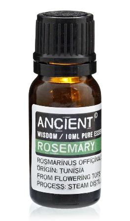 Ulei esential de Rozmarin (Rosmarinus Officinalis), 10ml - Ancient Wisdom