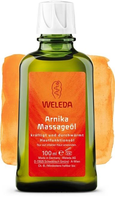 Ulei incalzitor de masaj cu extract de arnica, 100 ml - Weleda
