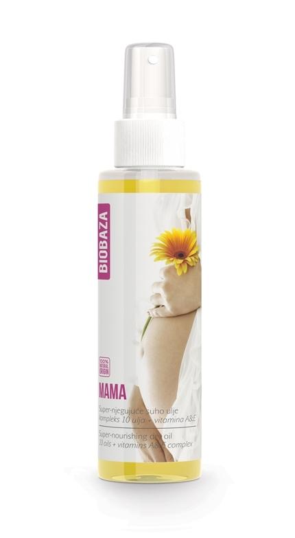 Ulei natural antivergeturi pentru sarcina, 150 ml - BIOBAZA MAMA