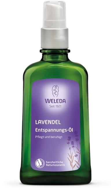 Ulei natural relaxant cu lavanda - Weleda