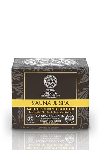 Unt pentru picioare cu extract de lamaie si pin siberian, Sauna & Spa 120 ml - Natura Siberica