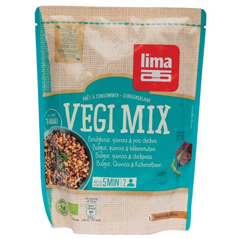 Vegi mix bulgur, quinoa si naut bio, 250g - Lima
