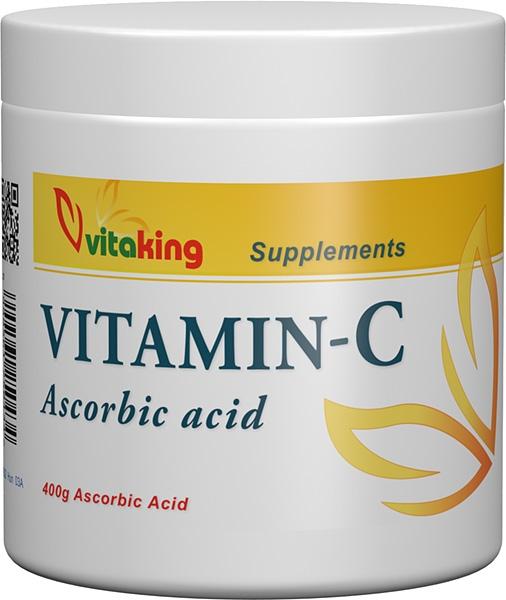 Vitamina C cristalizata, 400g - Vitaking