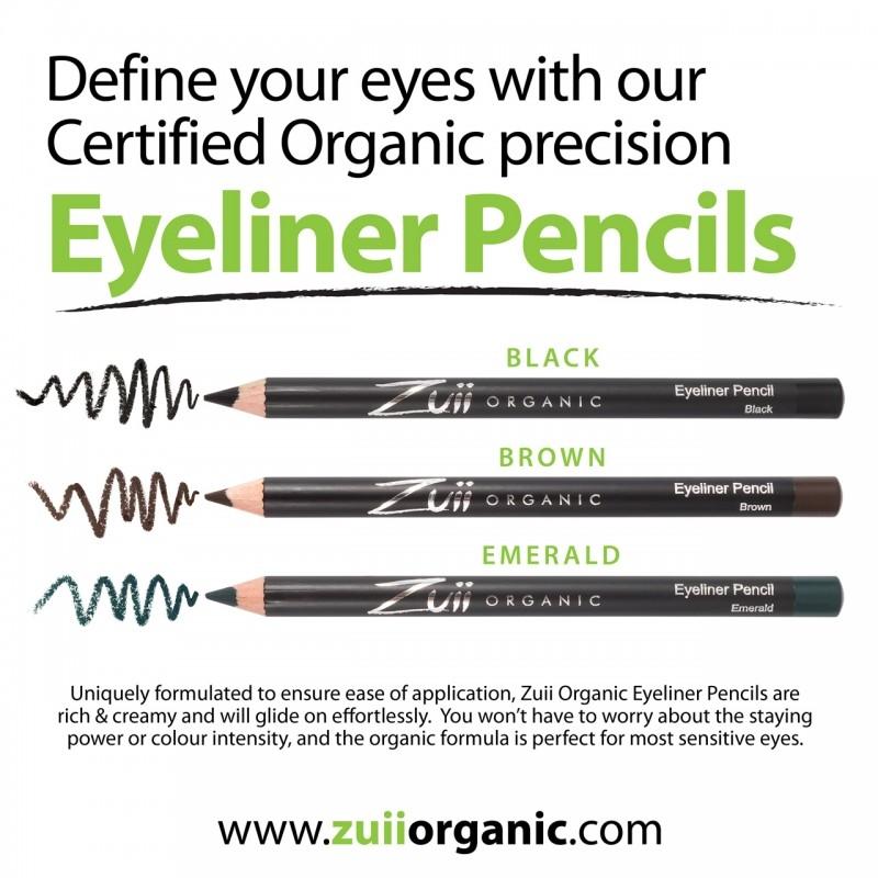 Creion organic pentru contur ochi, Maro - ZUII Organic