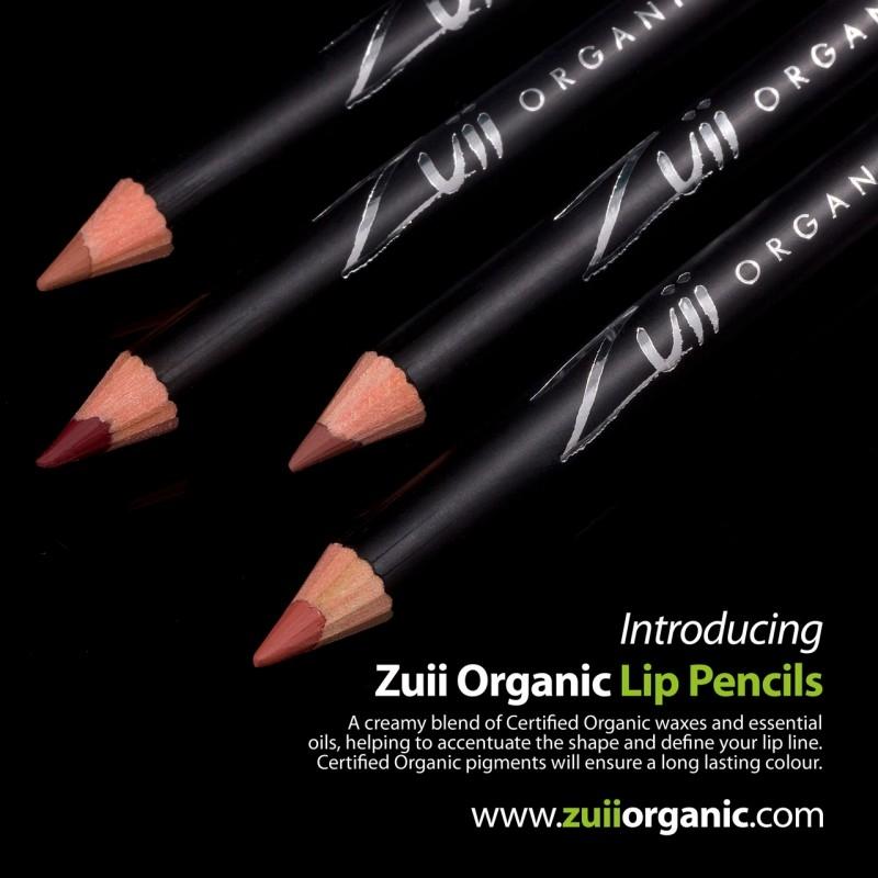 Creion organic pentru contur buze, Berry - ZUII Organic