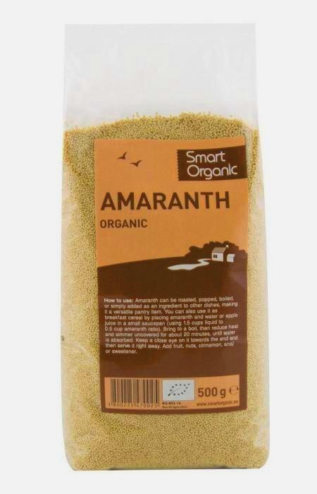 Amaranth bio, 500g - Smart Organic
