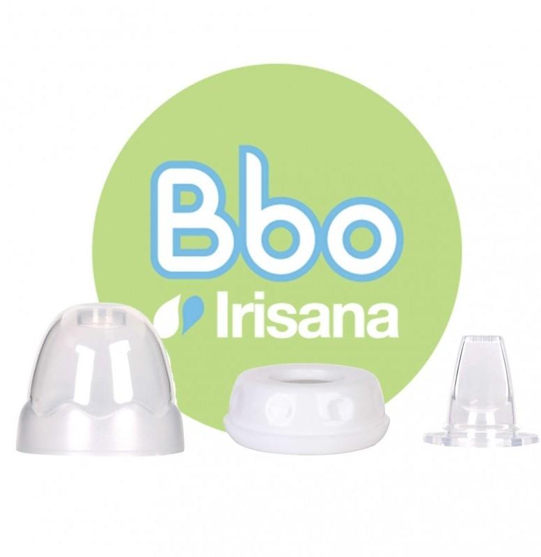 Accesoriu tetina bebe pentru sticla din borosilicat Irisana