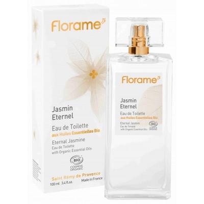Apa de toaleta bio Jasmin Eternel, 100 ml - Florame