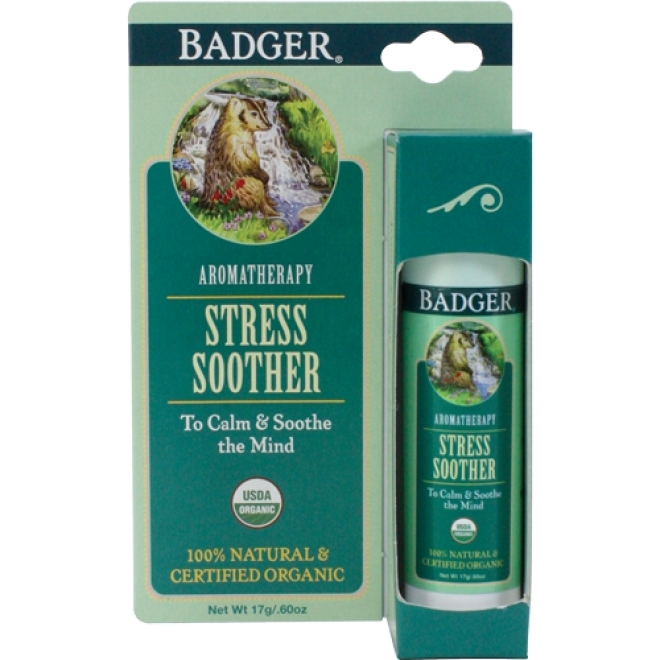 Balsam organic pentru aromaterapie Tension Soother, 17g -  Badger