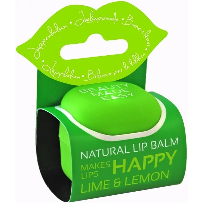 Balsam de buze natural cu lamaie si lime - Beauty Made Easy