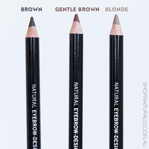 Creion bio pentru sprancene Brown - Benecos