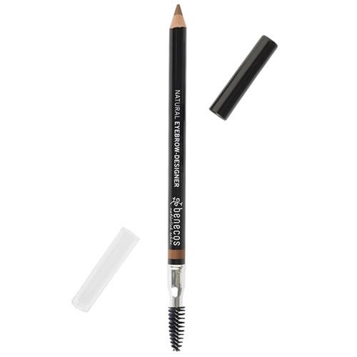 Creion bio pentru sprancene Gentle Brown - Benecos