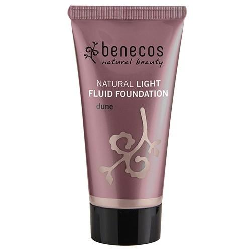 Fond de ten natural light fluid Dune (ten deschis) - Benecos