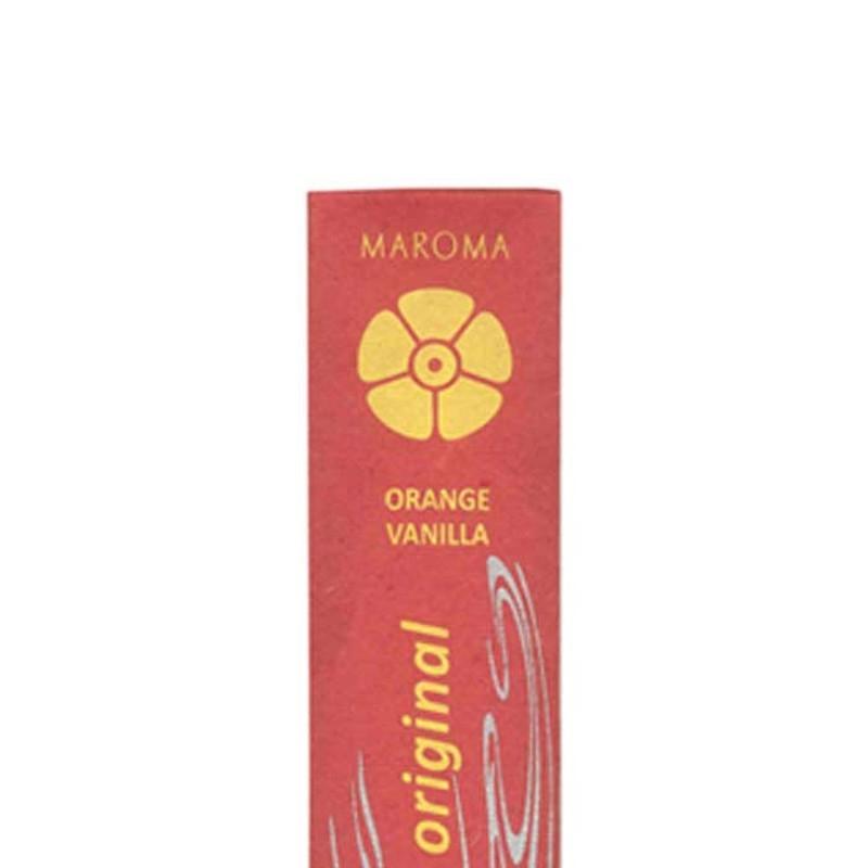 Betisoare parfumate naturale, PORTOCALE & VANILIE - MAROMA