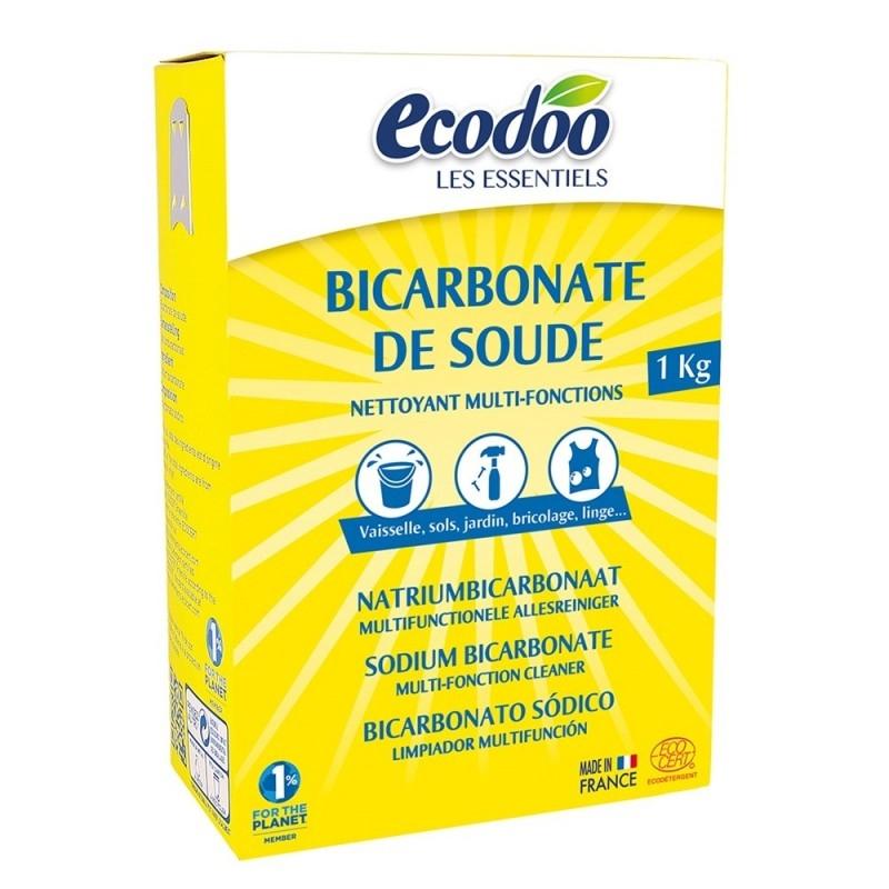 Bicarbonat de sodiu ecologic pentru menaj, 1kg - Ecodoo