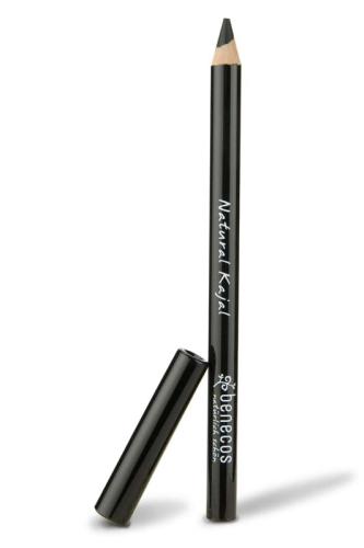 Creion Kajal bio pentru ochi, Negru - Benecos