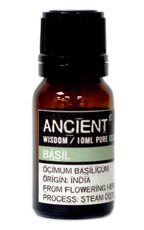 Ulei esential de Busuioc (Ocimum Basilicum), 10ml - Ancient Wisdom