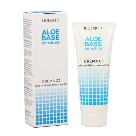 Crema C3 pentru piele fragila si cuperoza cu imortele - Bioearth