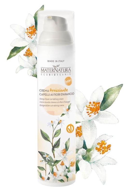 Crema bio pentru definire bucle cu flori de portocal, 100ml - MaterNatura