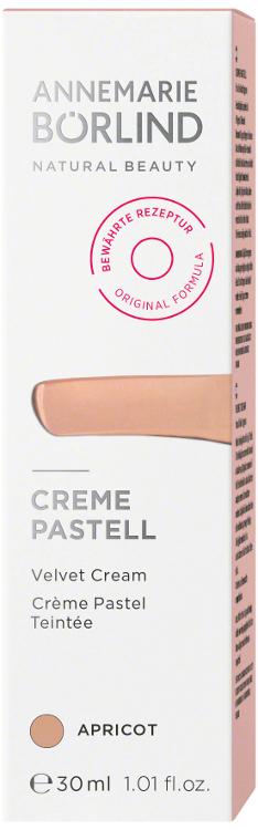 Crema nuantatoare matifianta Apricot (ten mediu), 30 ml - Annemarie Borlind